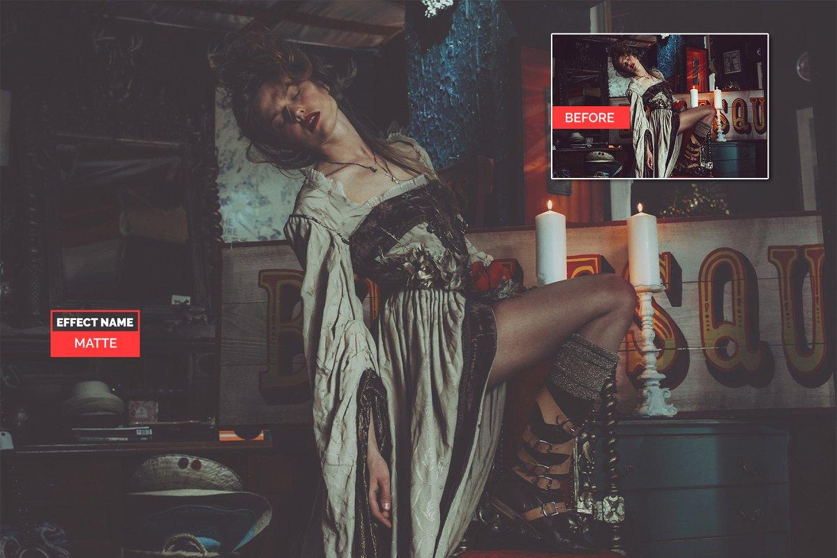 750+ Photographers Choice Clean Photoshop Actions - matte 1
