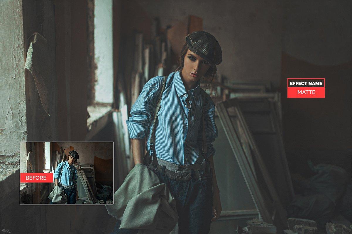 750+ Photographers Choice Clean Photoshop Actions - matte 2