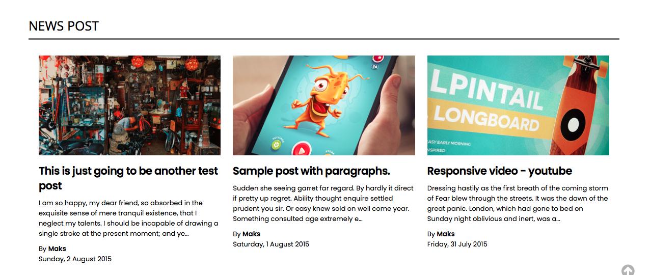 Free News Blogger Template SmagNews BlogSpot - news2