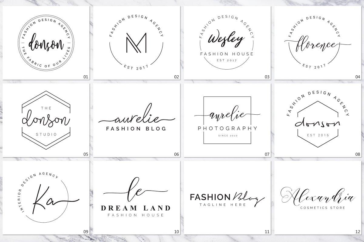 120 Elegant Logo Branding Pack - prev 05 1 1