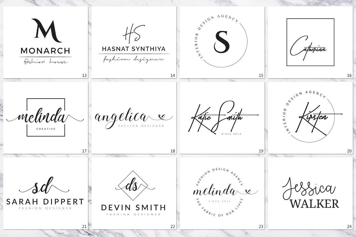 120 Elegant Logo Branding Pack - prev 06 1 1
