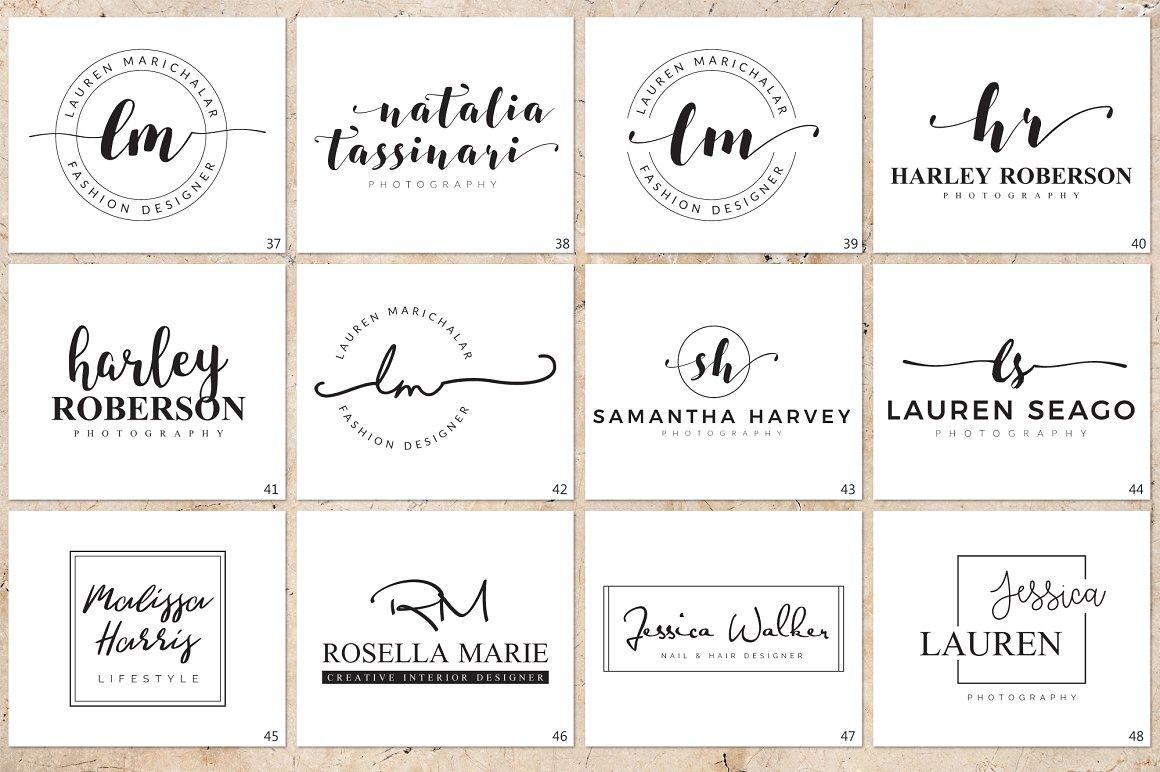 120 Elegant Logo Branding Pack - prev 08 1 1