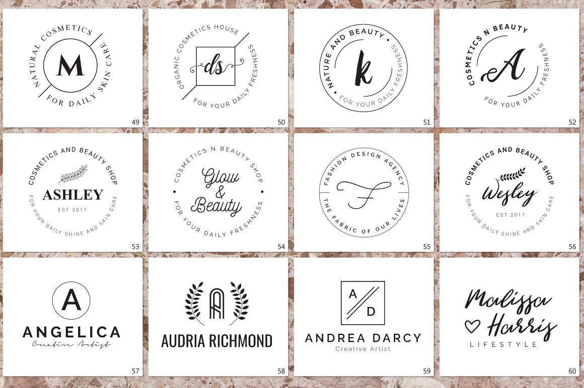 120 Elegant Logo Branding Pack - prev 09 1 1