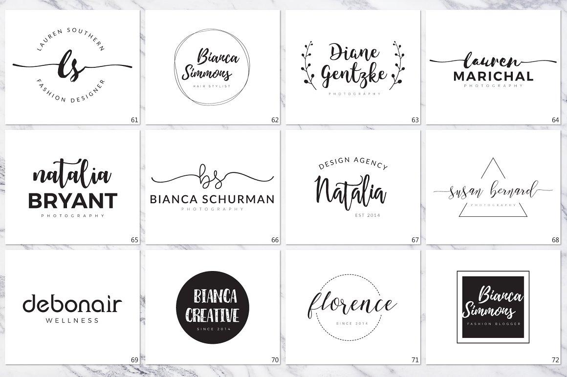 120 Elegant Logo Branding Pack - prev 10 1 1