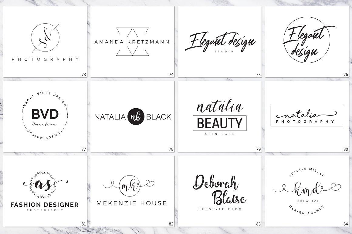 120 Elegant Logo Branding Pack - prev 11 1 1