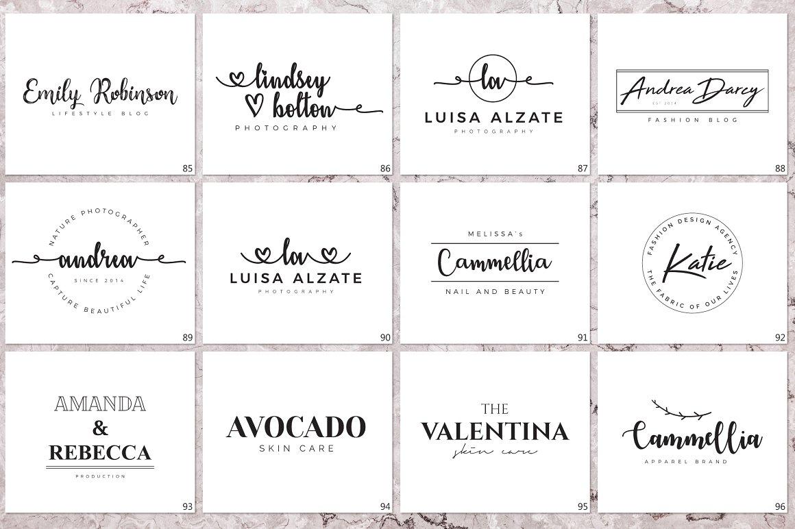 120 Elegant Logo Branding Pack - prev 12 1 1