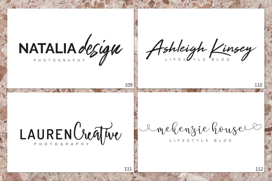 120 Elegant Logo Branding Pack - prev 14