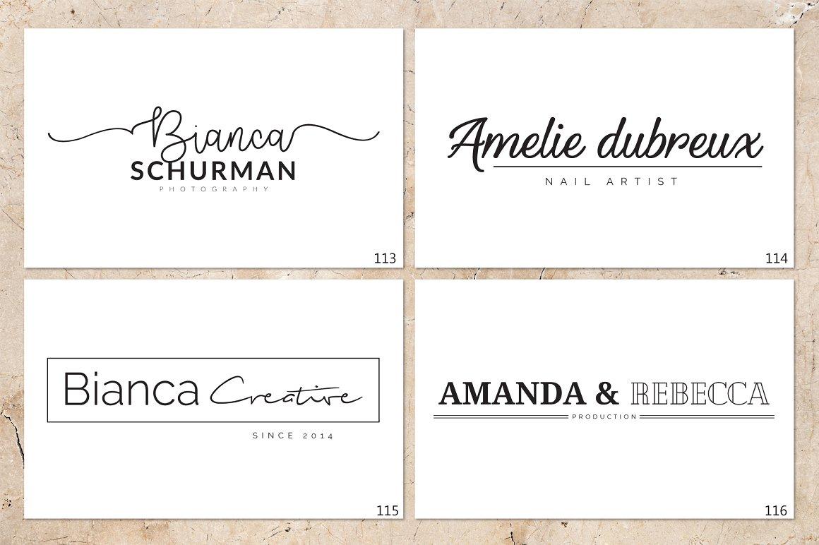 120 Elegant Logo Branding Pack - prev 15