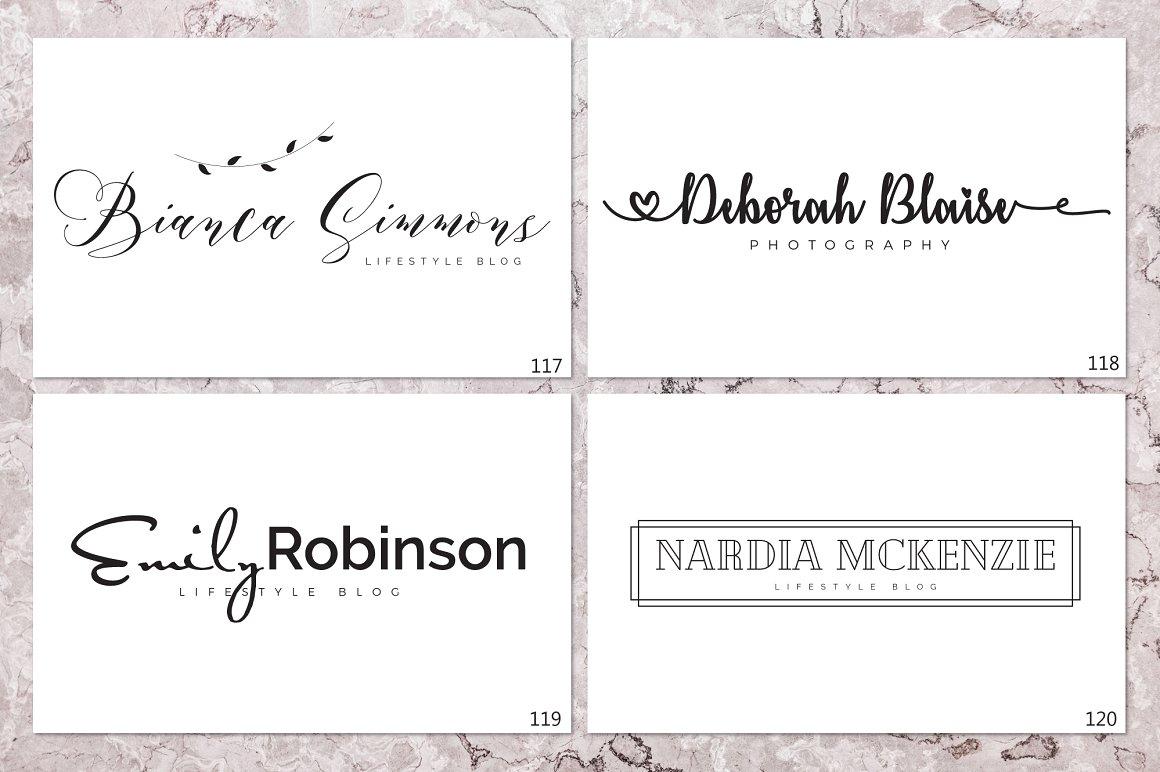 120 Elegant Logo Branding Pack - prev 16