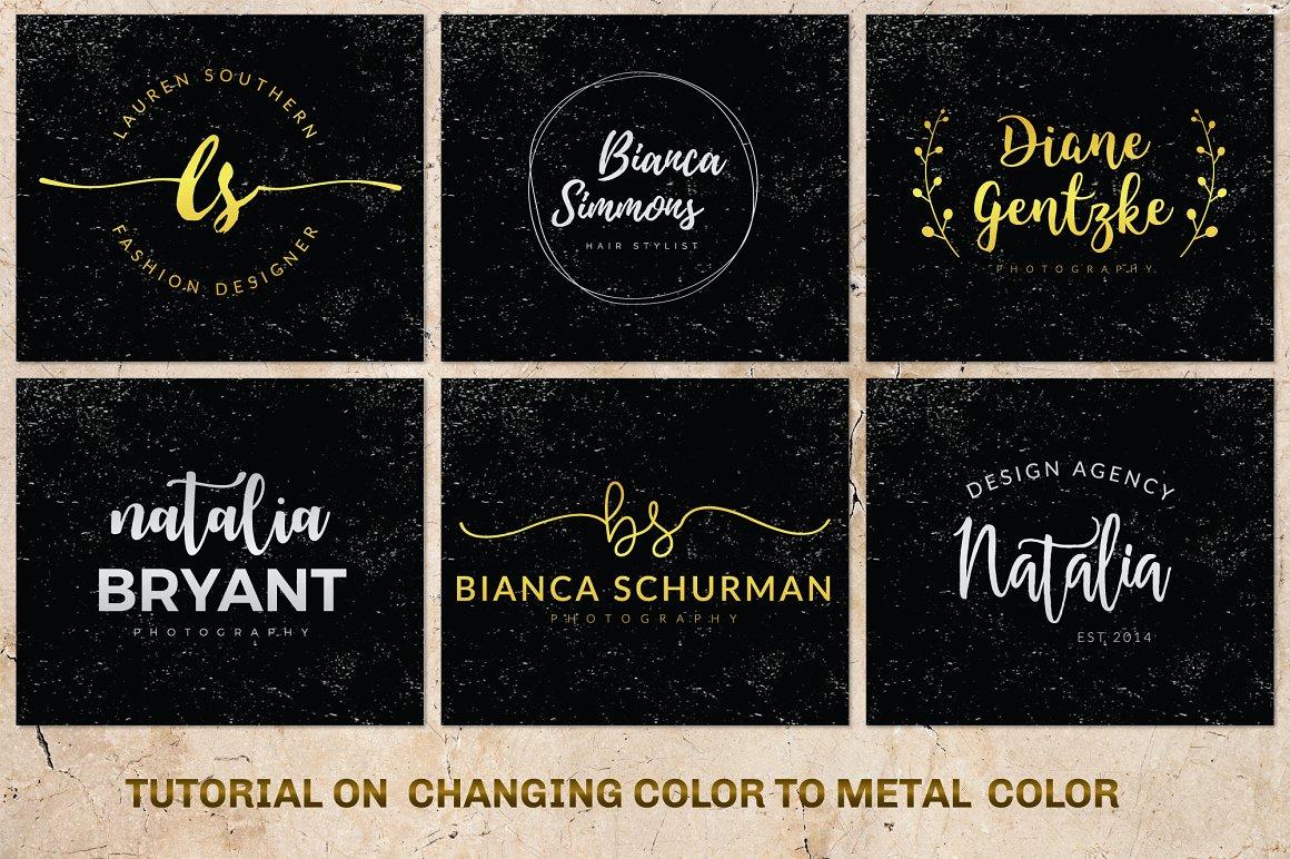 120 Elegant Logo Branding Pack - prev 21