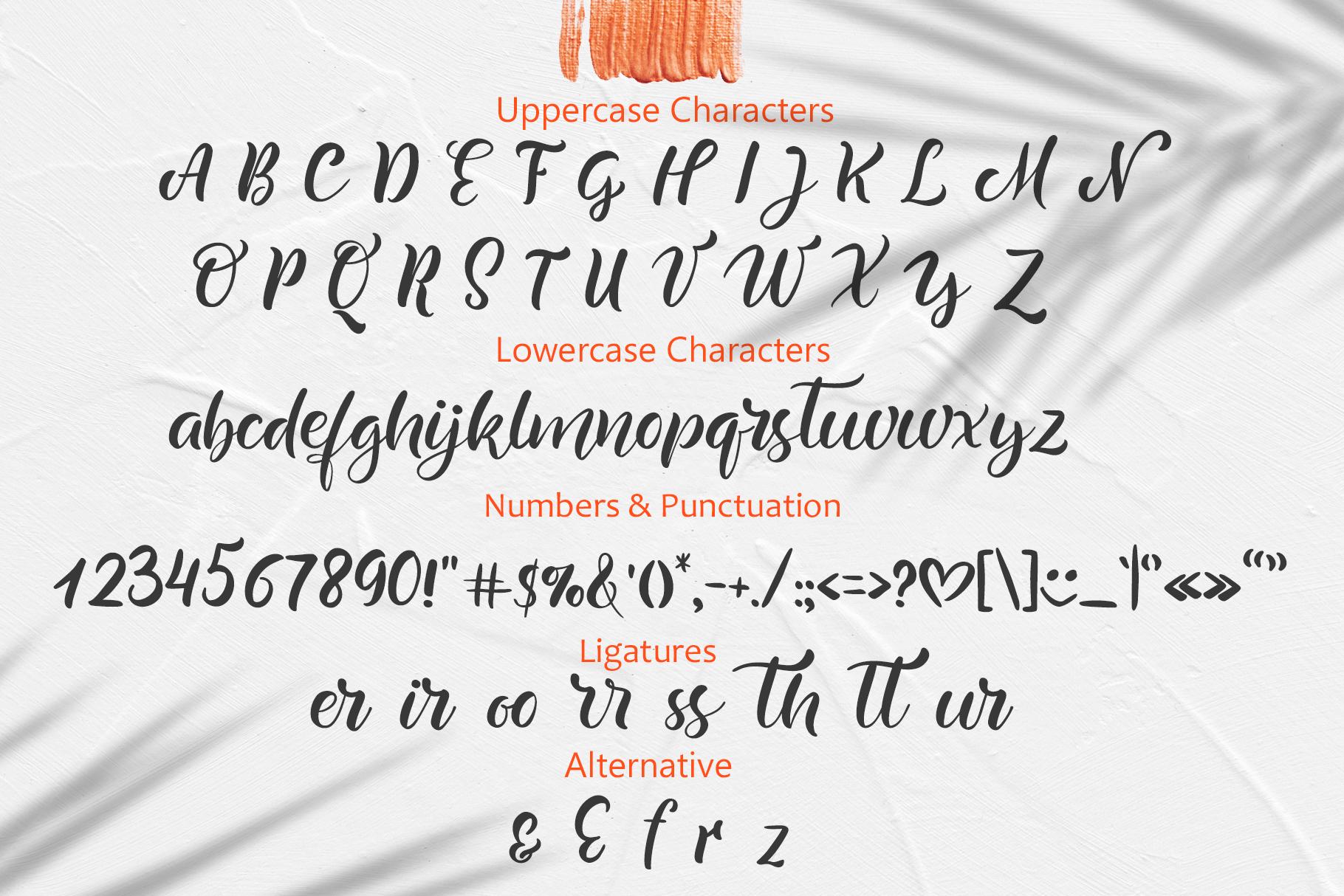 Summer Handwritting Beach Resort Font - title04 5