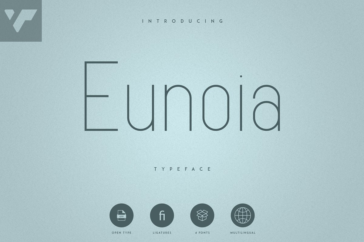 Rounded Sans Serif Font Eunoia - 1 1 1