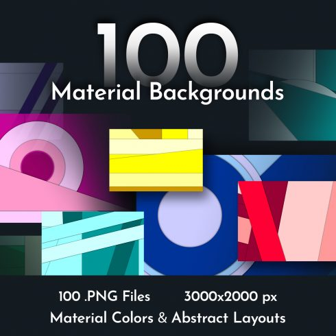 100 Material Background Collection - $5 only! - 100 material bg 1 490x490