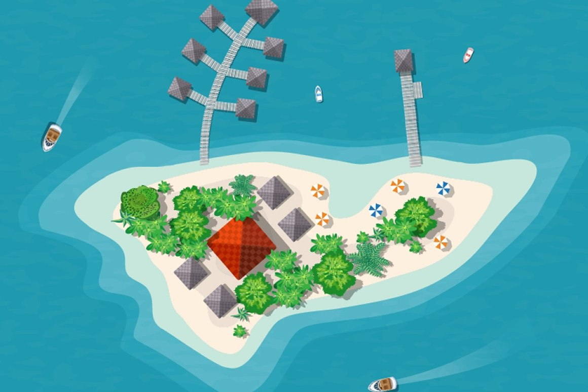 This is one of the islands in the UAE.