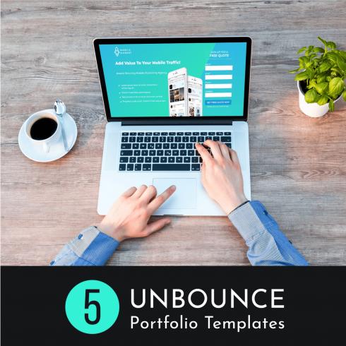 Unbounce Portfolio Templates