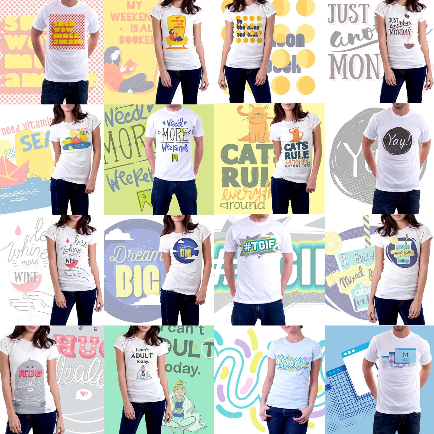 T-shirt Vector Art