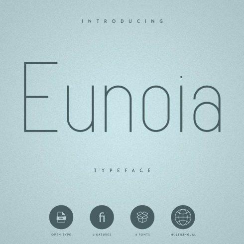 Rounded Sans Serif Font Eunoia - 600 1 490x490