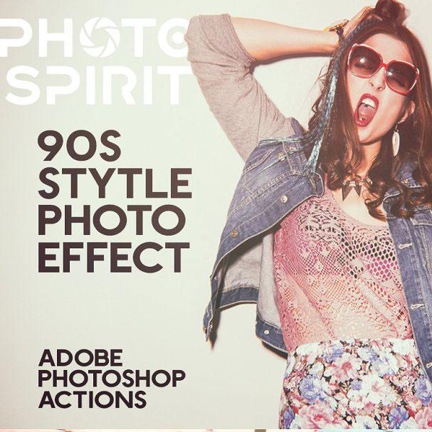 90s Style Photo