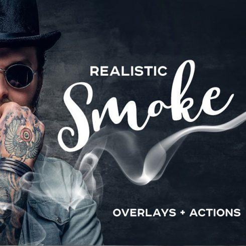 56 Realistic Smoke Overlays Photoshop - 6001 490x490