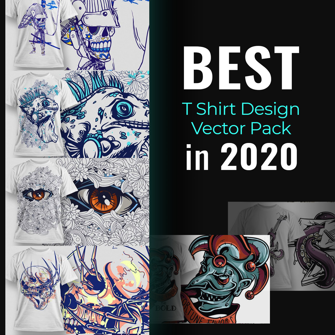 50+ Best T-Shirts 2021. Best T-Shirt Design Ideas For You - Best T Shirt Design Vector Pack 1