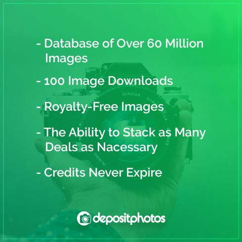 DepositPhotos Deal: 100 Royalty-free Photos