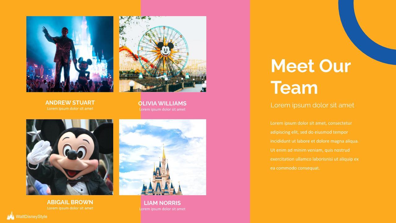 Free Disney Powerpoint Template 2020: 6 Slides - Disney.pptx 4