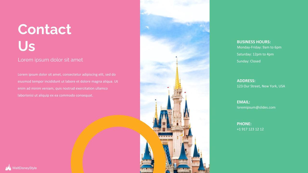 Free Disney Powerpoint Template 2020: 6 Slides - Disney.pptx 6