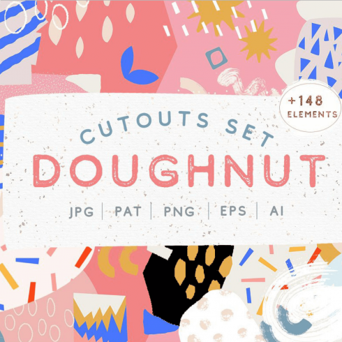 Doughnut Clipart Collection.