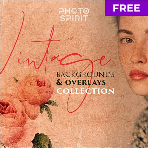 Free Vintage Backgrounds & Overlays for Photoshop.