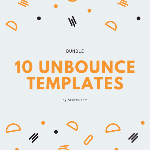 Premium One Page Unbounce Templates