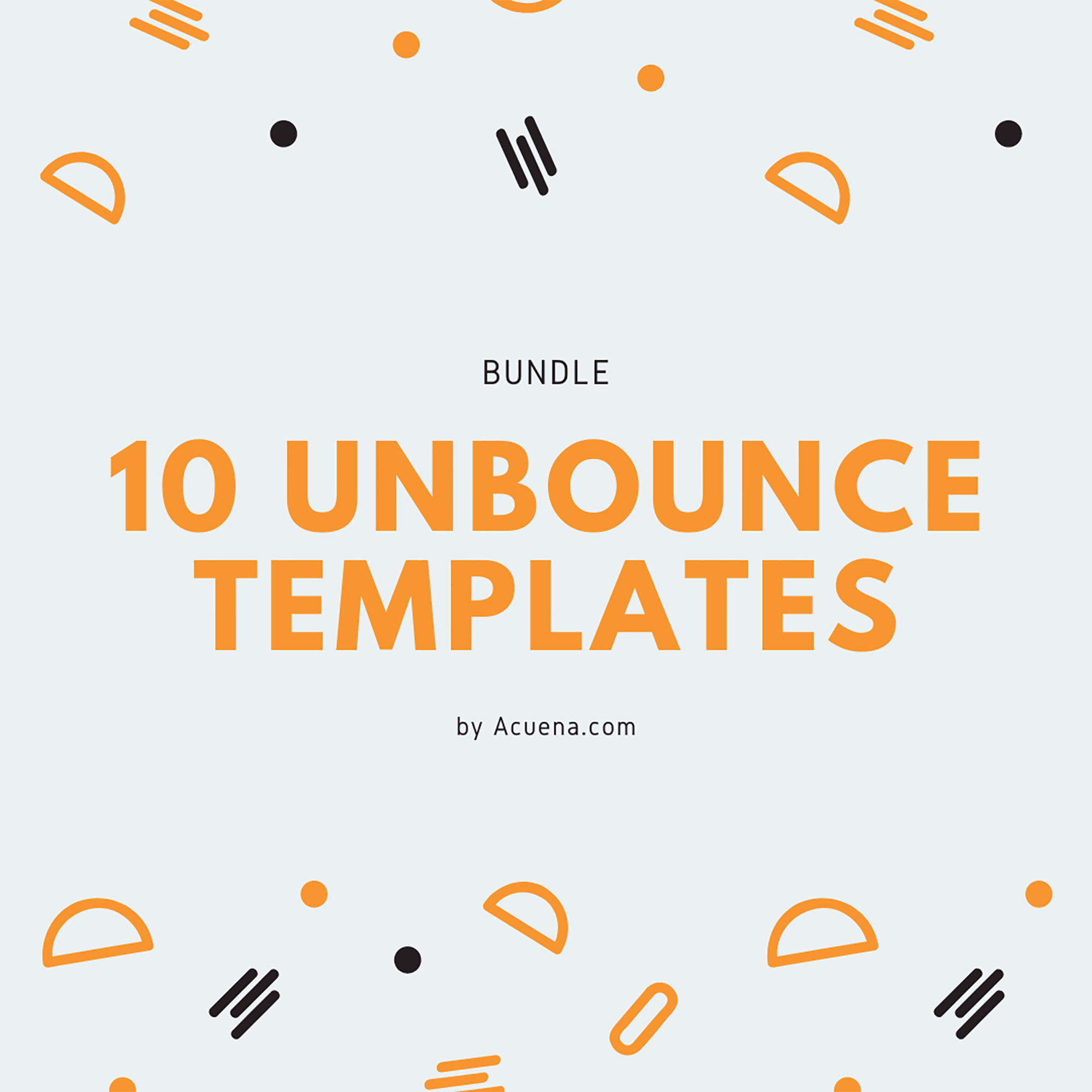 30+ Best Unbounce Templates in 2020: Free and Premium - Premium One Page Unbounce Templates