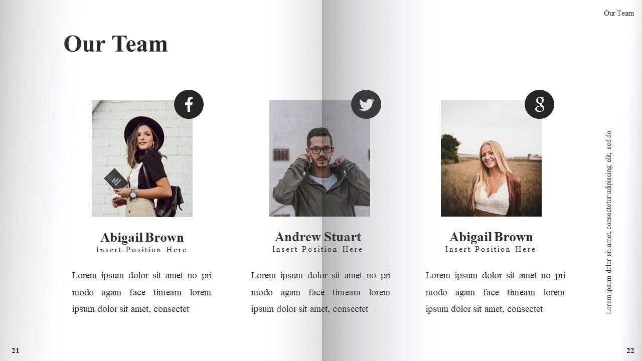 Best Book Presentation: Book Powerpoint Template 50 Slides - Slide13
