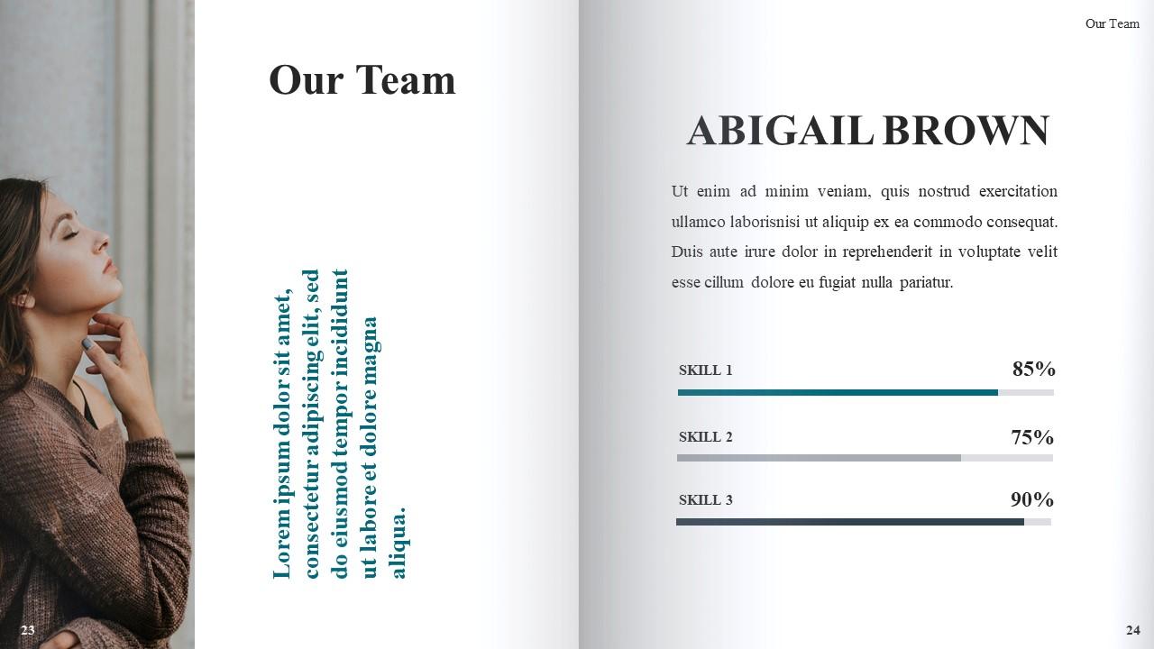 Best Book Presentation: Book Powerpoint Template 50 Slides - Slide14