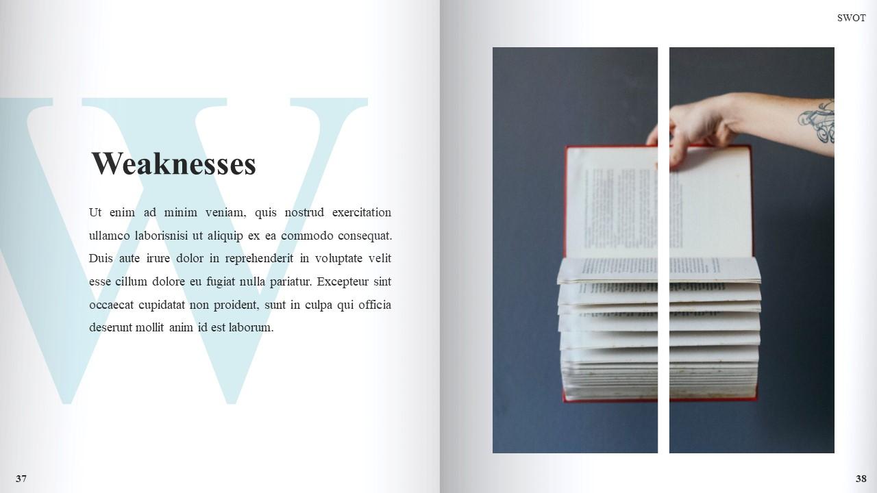 Best Book Presentation: Book Powerpoint Template 50 Slides - Slide21