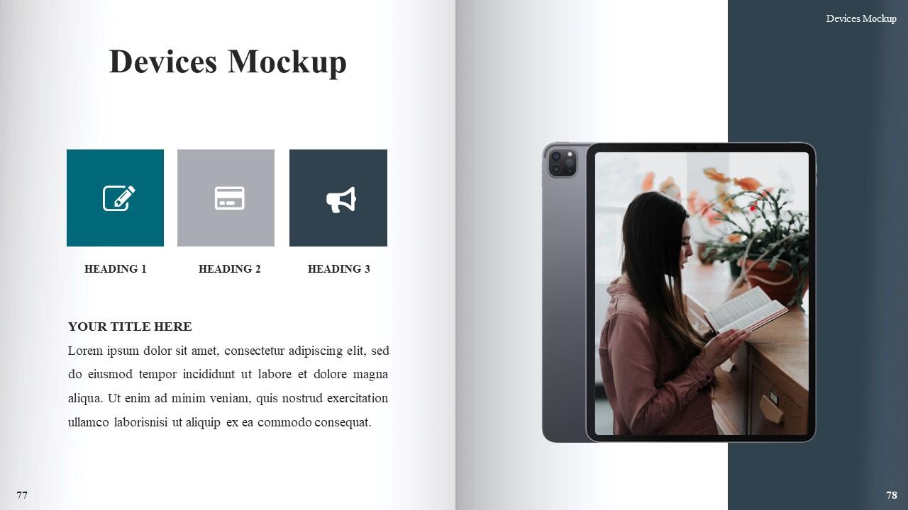 Best Book Presentation: Book Powerpoint Template 50 Slides - Slide41