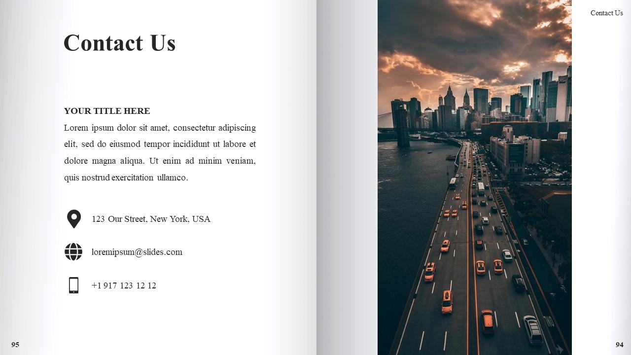 Best Book Presentation: Book Powerpoint Template 50 Slides - Slide50
