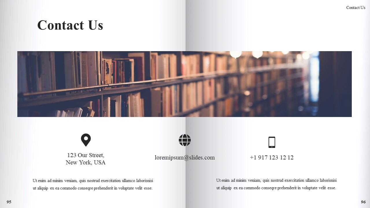Best Book Presentation: Book Powerpoint Template 50 Slides - Slide51