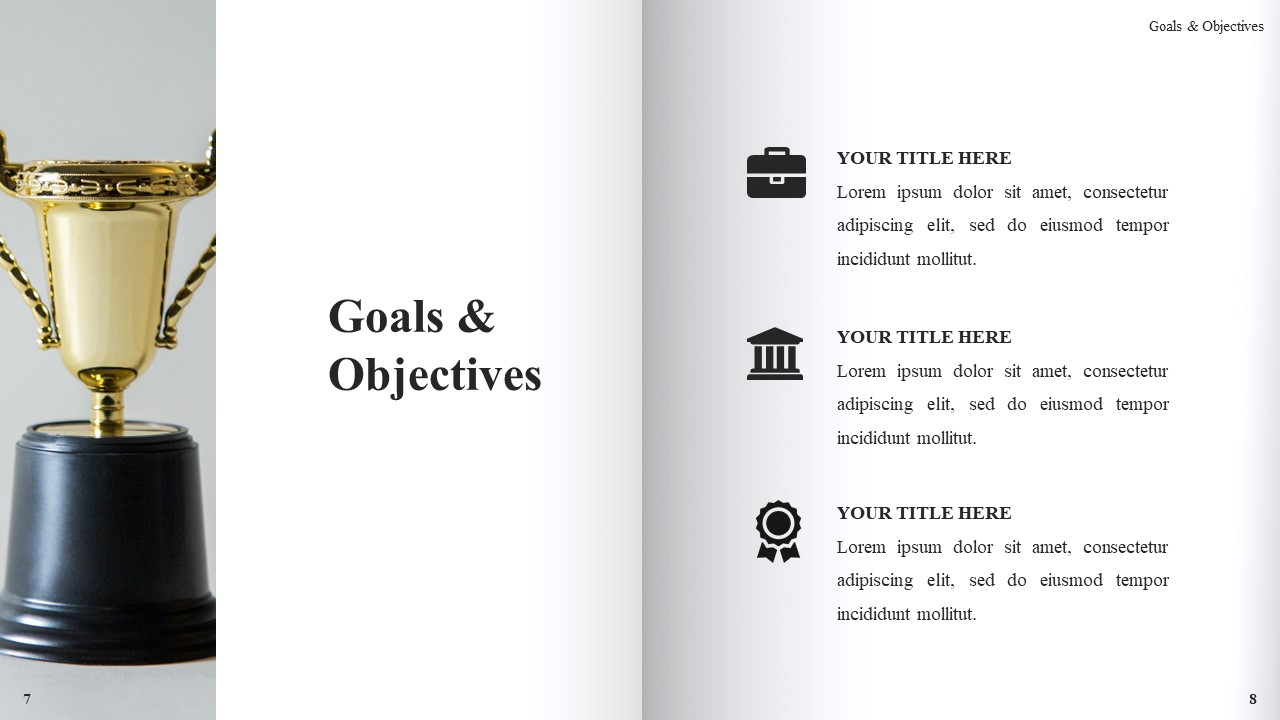 Best Book Presentation: Book Powerpoint Template 50 Slides - Slide6