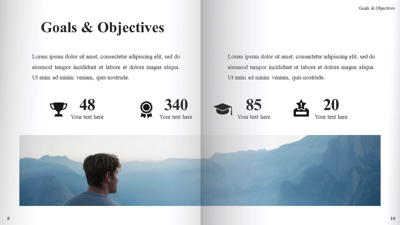 Best Book Presentation: Book Powerpoint Template 50 Slides - Slide7