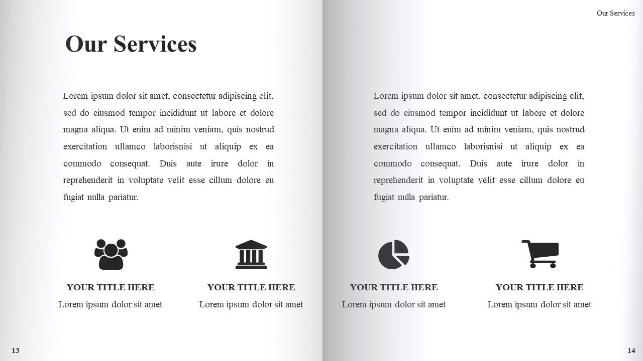 Best Book Presentation: Book Powerpoint Template 50 Slides - Slide9