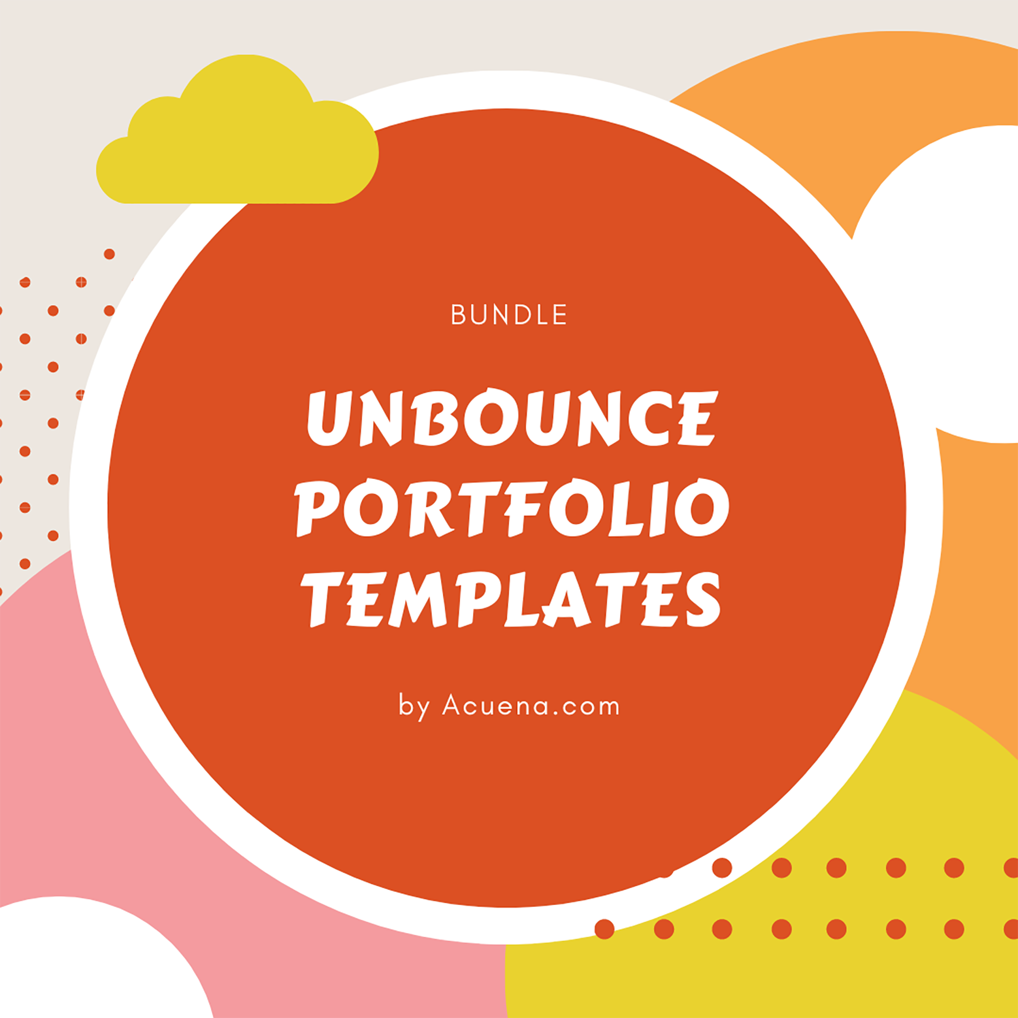 30+ Best Unbounce Templates in 2020: Free and Premium - Unbounce Portfolio Templates
