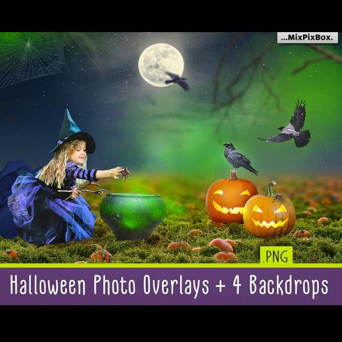 halloween overlays