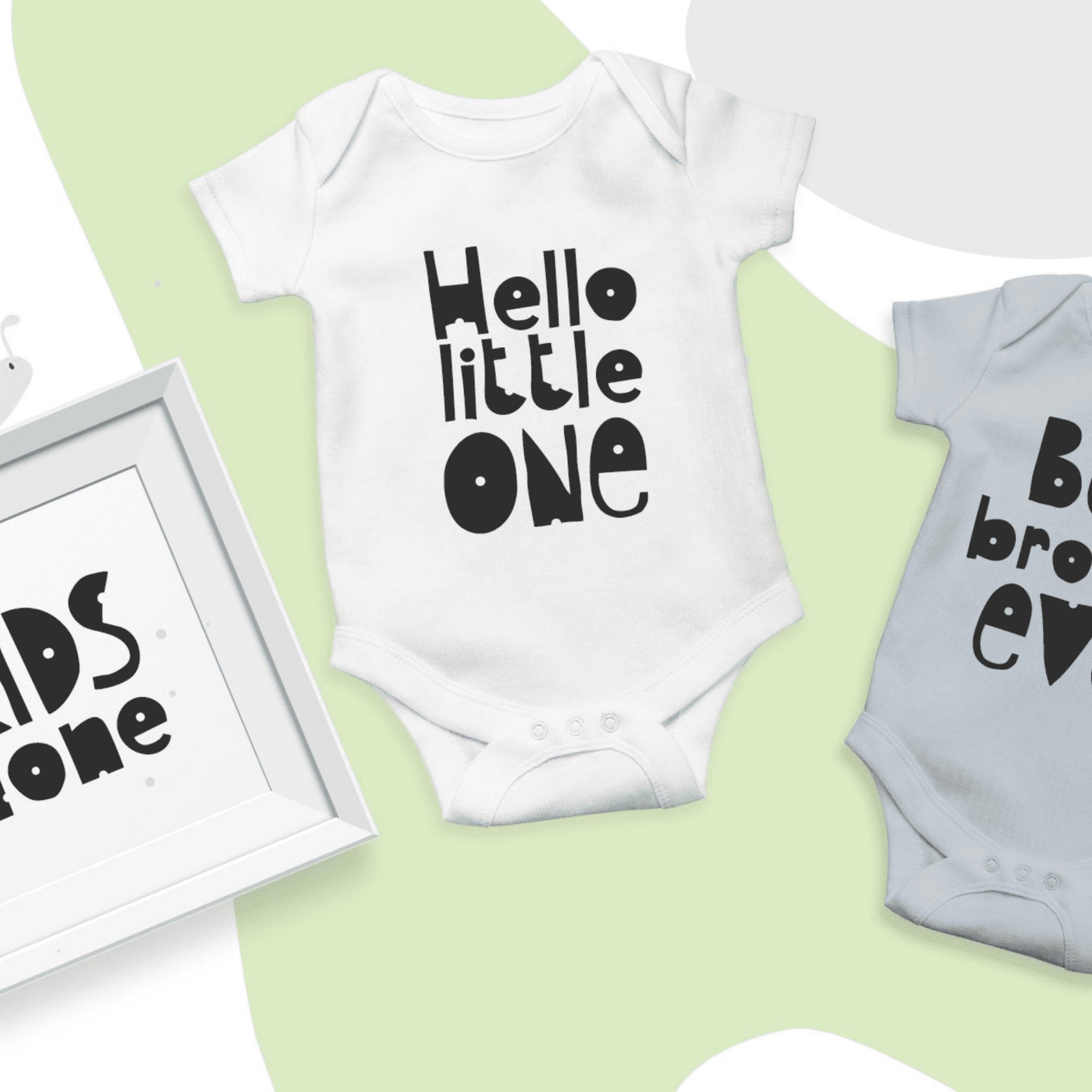 Hello Baby Childish Font.