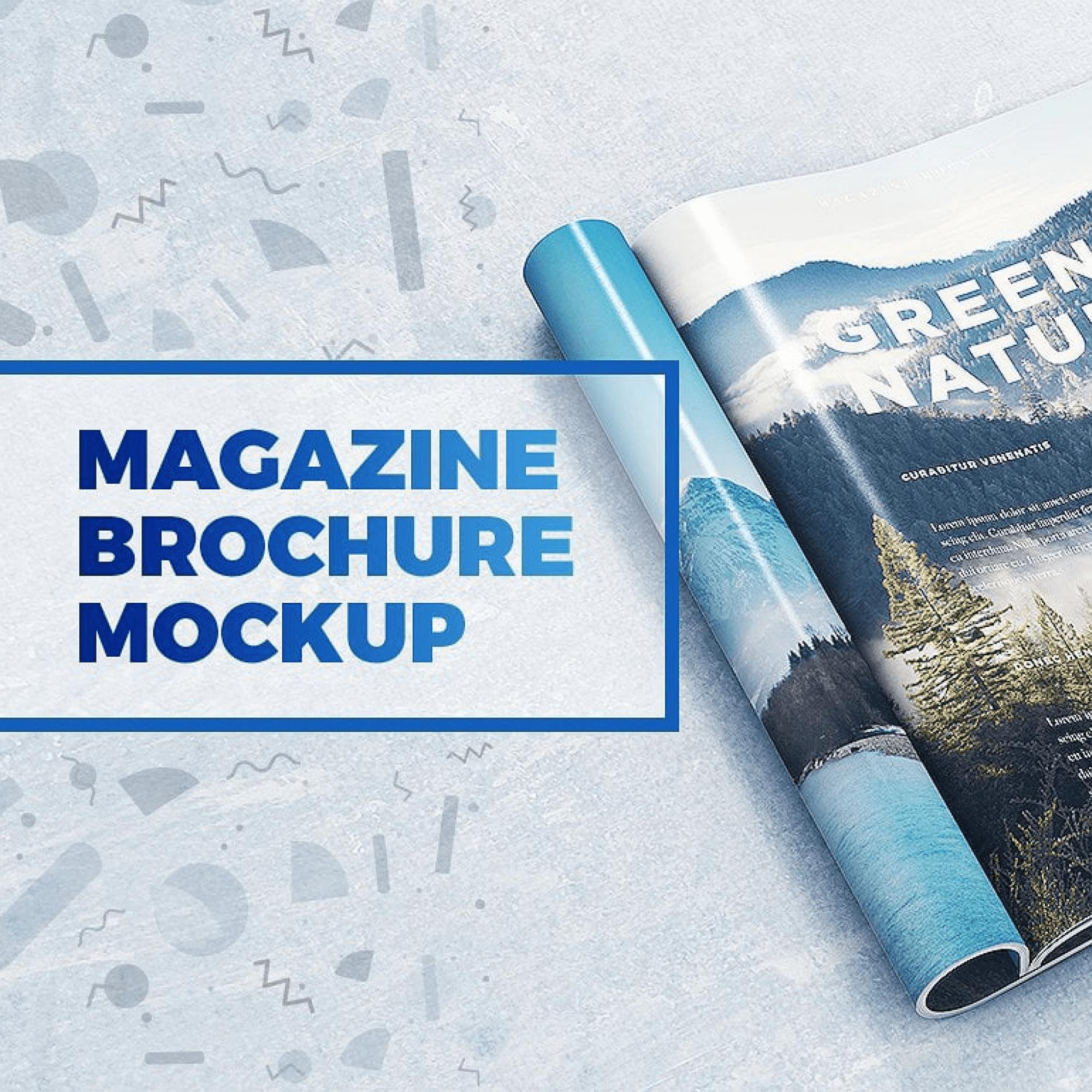 29 Magazine Brochure MockUps (.PSD).