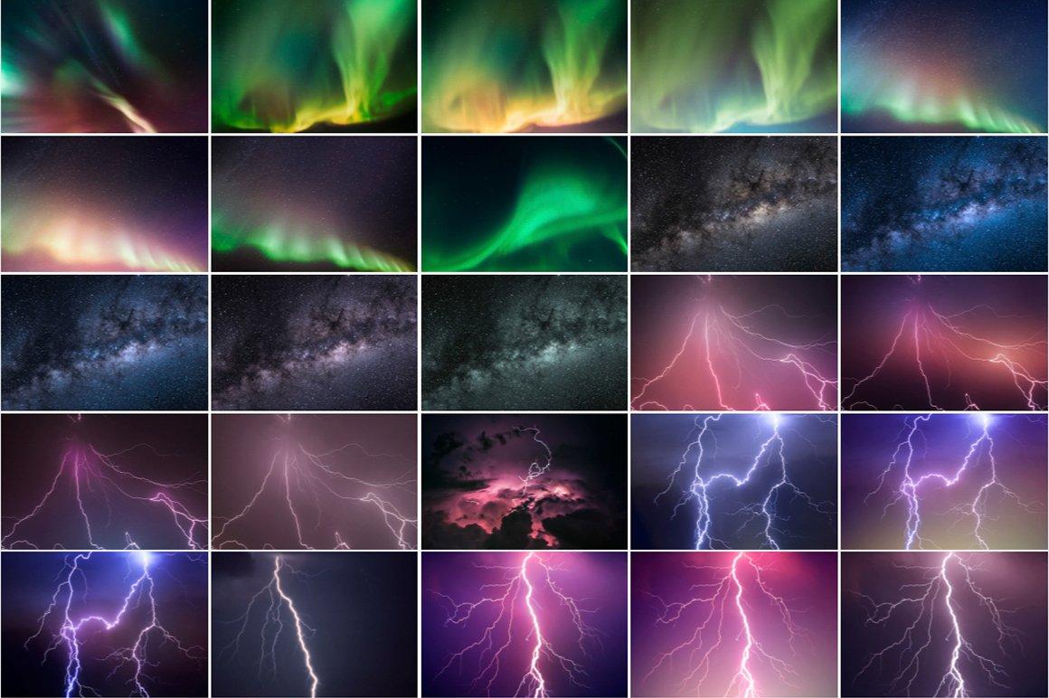 Night Sky Photoshop Actions - night sky silhouette 11