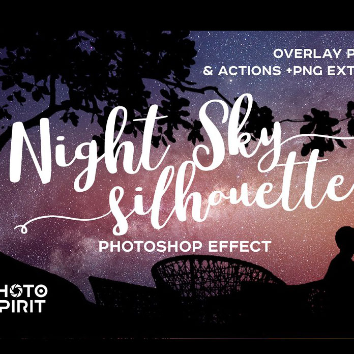 Night Sky Photoshop Actions