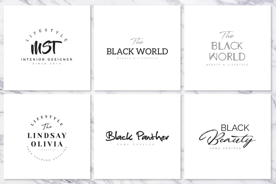 120 Elegant Premade Logo Pack 2020 - prev 053