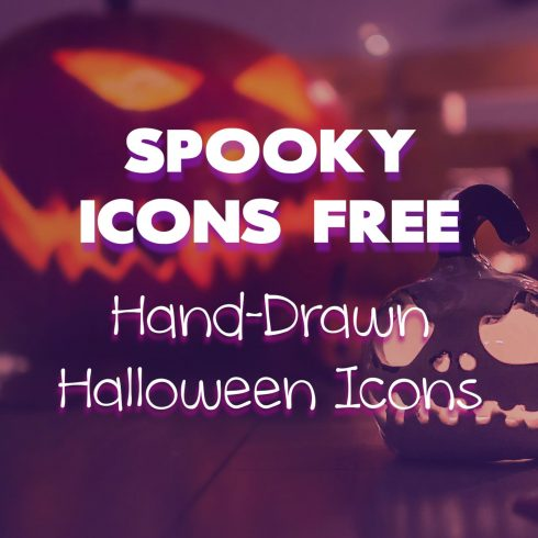 Spooky Icons Free.