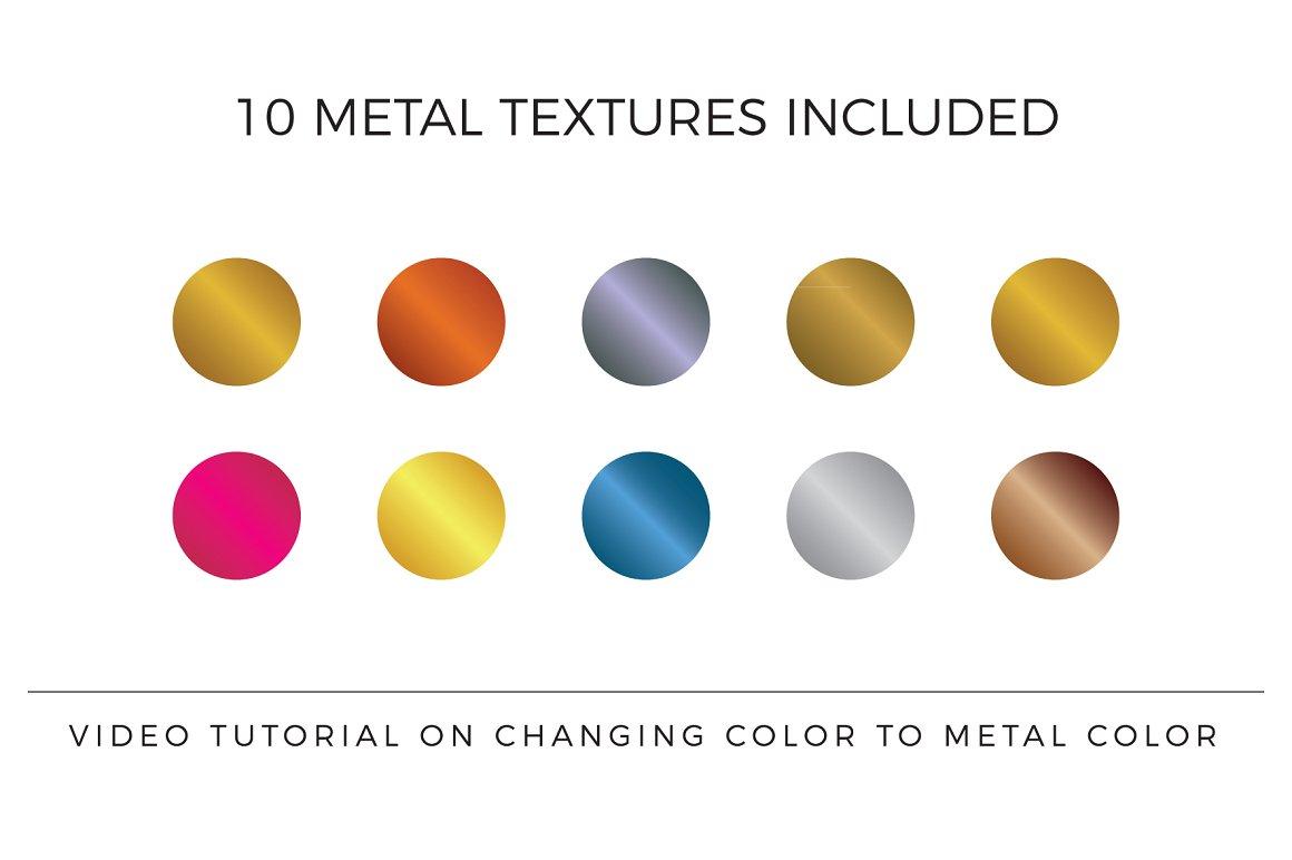 120 Elegant Premade Logo Pack 2020 - texture prev