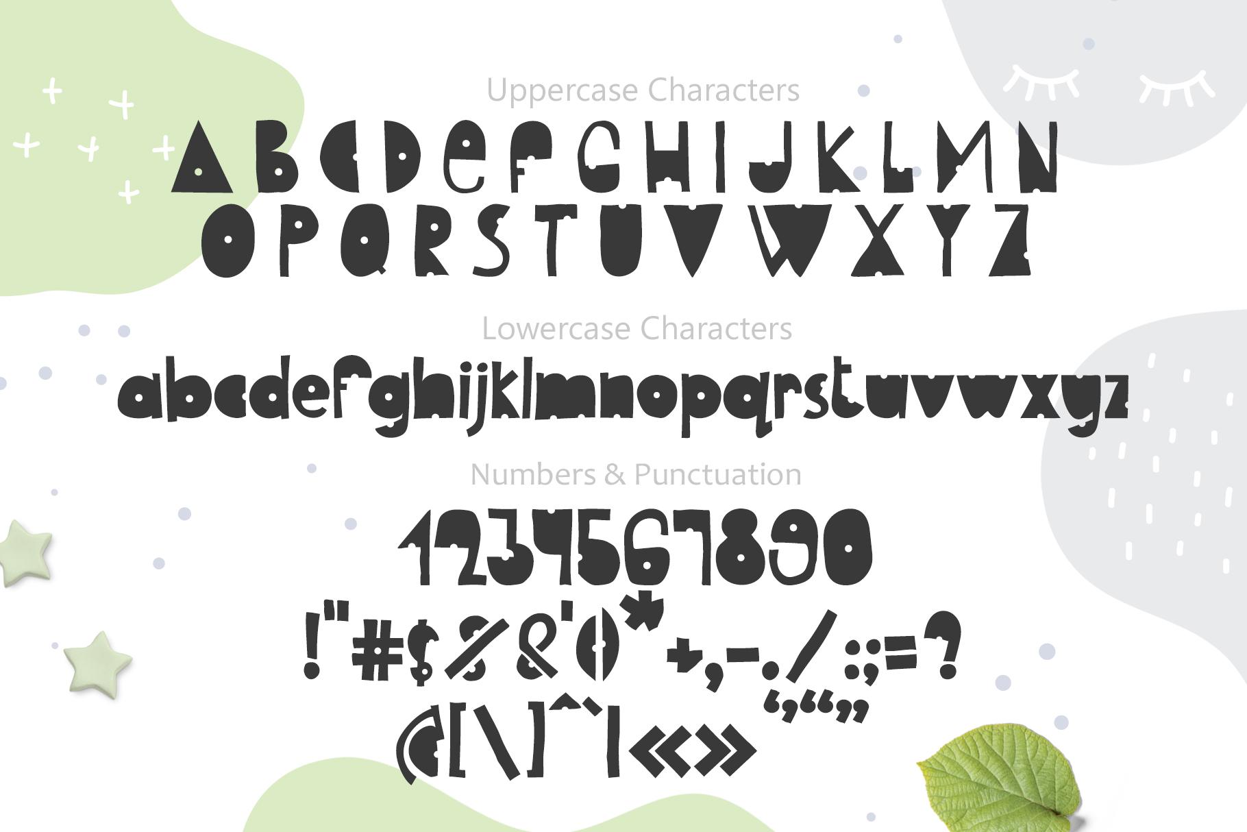 Kids Handwriting Font 2021: Hello Baby Childish Font - title03 2